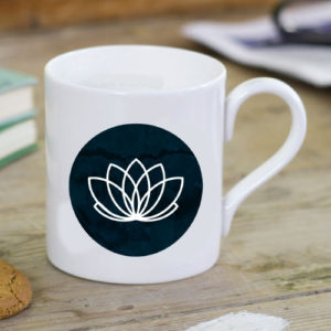 caneca logo blacker lotus